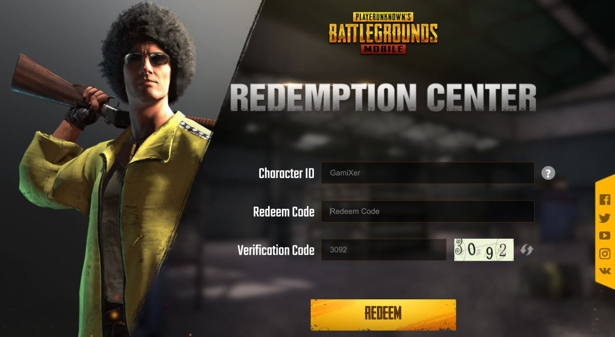 Photo of PUBG Mobile October 2020 Redeem Code